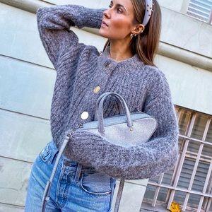 H&M chunky knit wool cardigan